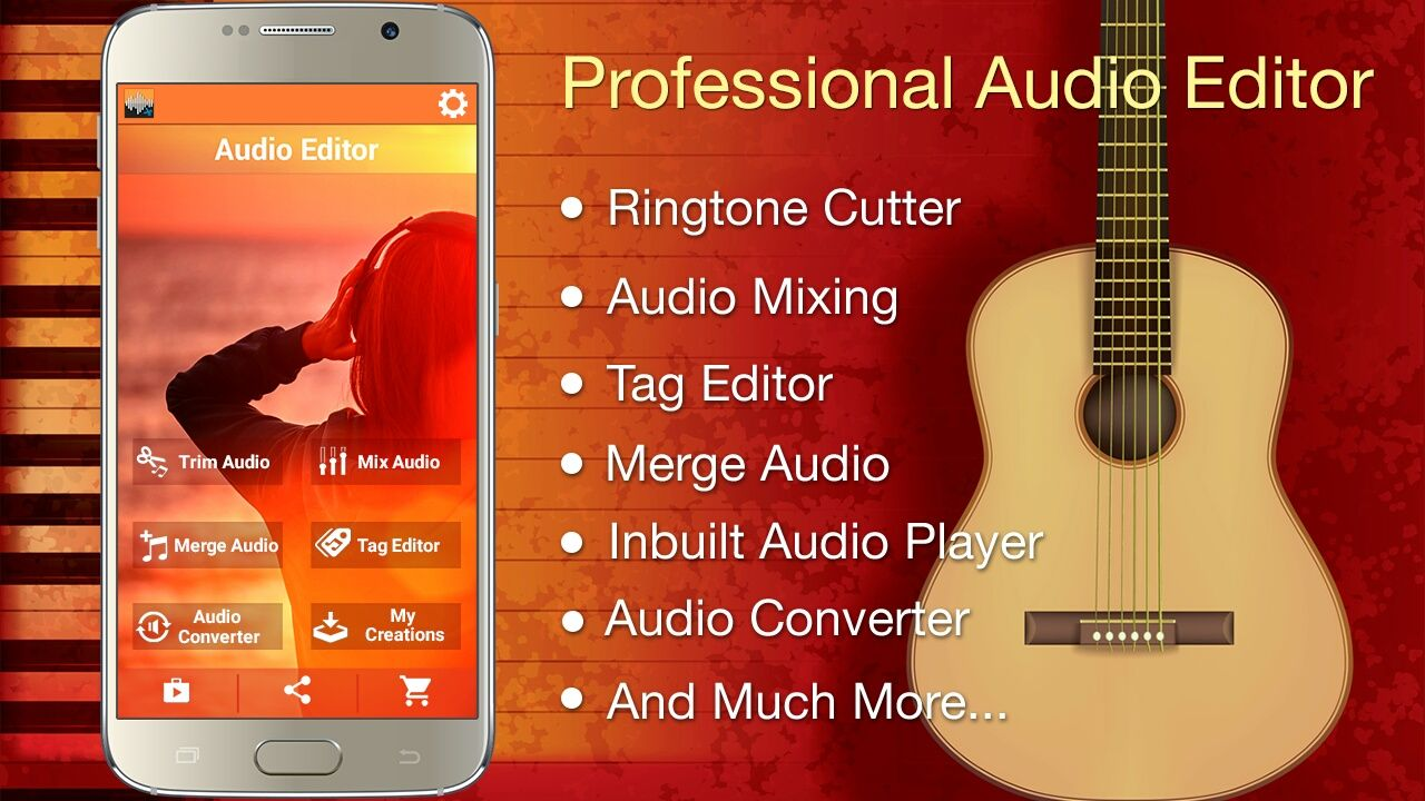 Audio MP3 Cutter Mix Converter PRO
