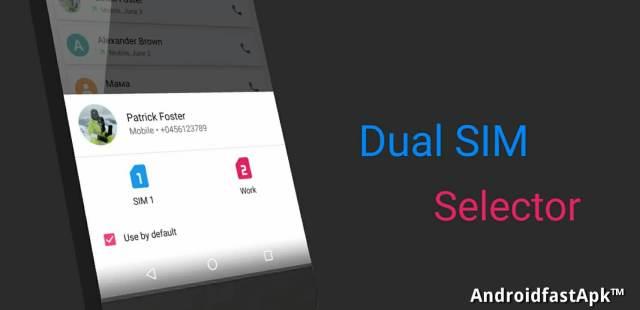 Dual SIM Selector