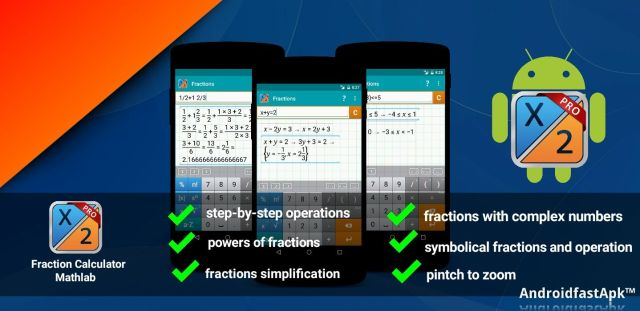 Fraction Calculator Mathlab PRO