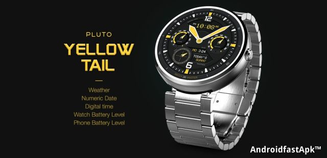 Pluto Yellow Tail