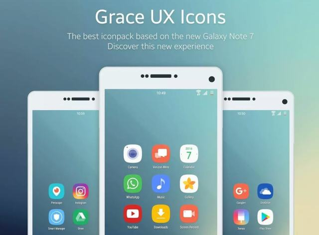 Grace UX Icon Pack