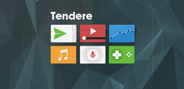 Tendere icon pack
