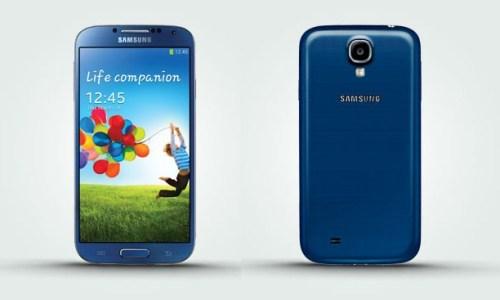 """""""Arctic blu"""" Galaxy S4"""