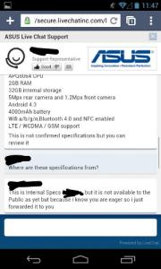 Google Nexus 7 rumored specs
