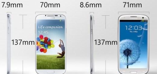 Galaxy S4 and Galaxy S3