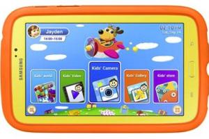 Galaxy Tab 3 -kids version