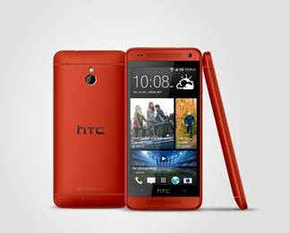 Red HTC One Mini embracing UK retails