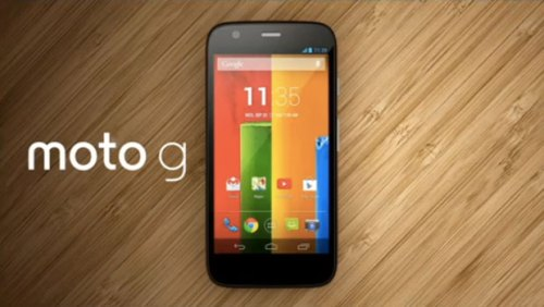 Moto G Available in UK