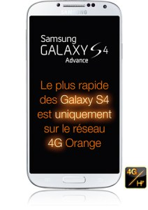 Galaxy S4 Advance Released in France