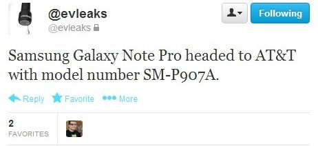 Galaxy Note Pro 12.2 is On Its Way to AT&T