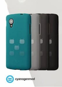 Official CyanogenMod Cases For Nexus 5 Are Available