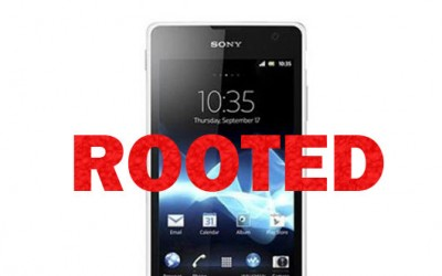 One-click Root method for Sony Xperia handsets