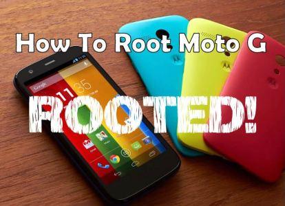 Rooting Procedures for Motorola Moto G