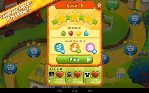 Android Farm Heroes Saga