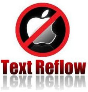 Text Reflow Feature has been just Removed from WebViews in KitKat