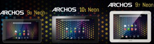 Archos to Unveil New Cheap Neon Tablets Running on Android Jelly Bean