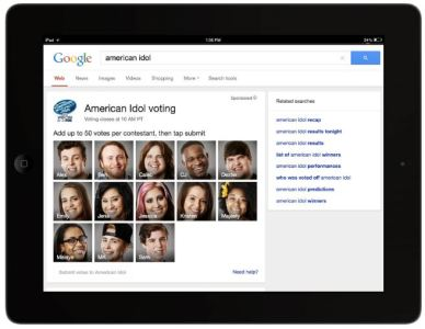 Google and FOX to Launch American Idol Second Screen Experience