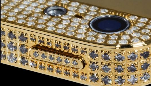 Diamond Encrusted iPhone 5