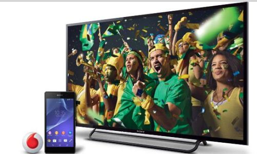 Free 32-inch TV with Sony Xperia Z2 Pre-orders from Vodafone UK