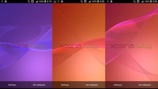 Xperia Z2 Live Wallpapers