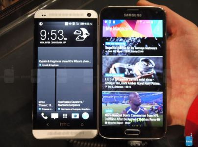 Samsung Galaxy S5 vs. HTC One