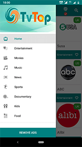 tvtap pro screenshot 2
