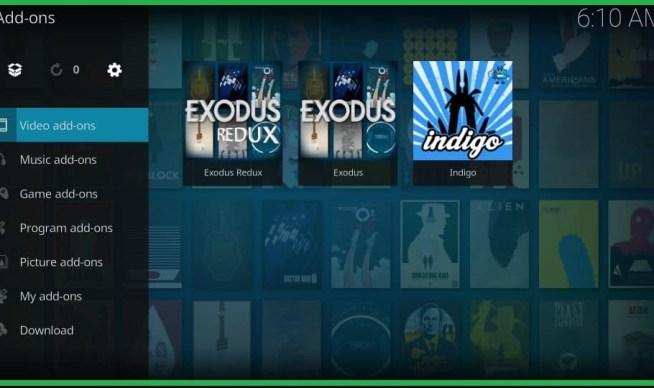 Best Kodi Addons 2020 list no7 exodus redux