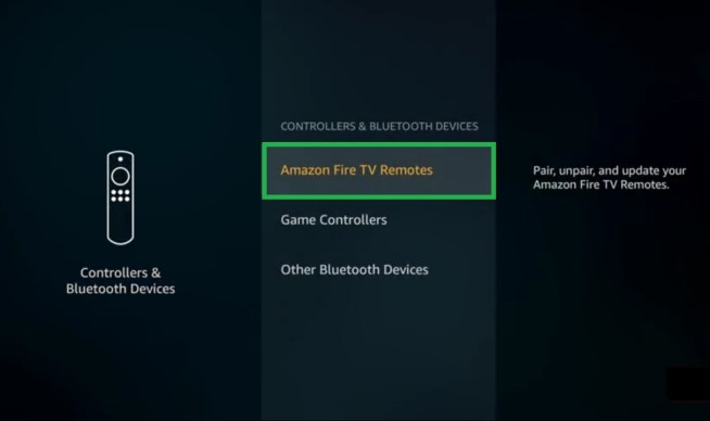 now you go to amazon fire tv remote : Fix FireStick Remote Not Working