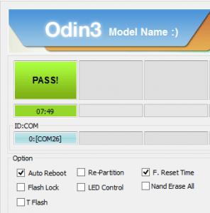 Odin-PASS-Message