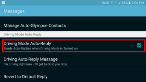 S7-Driving-Mode-Auto-Reply
