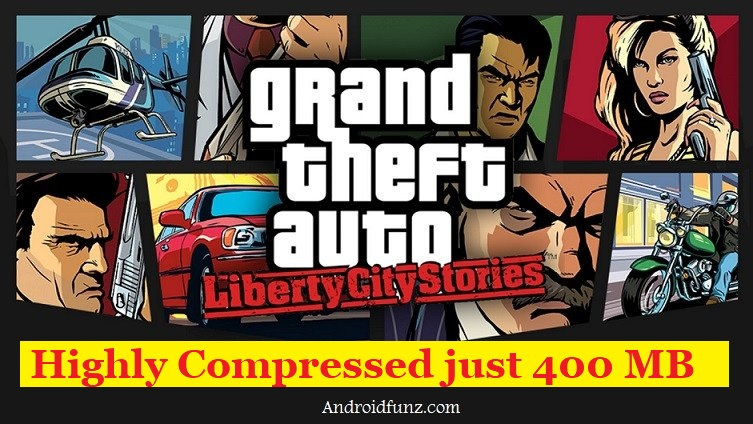 GTA Liberty City Stories Lite Apk 400 MB (Apk+Data