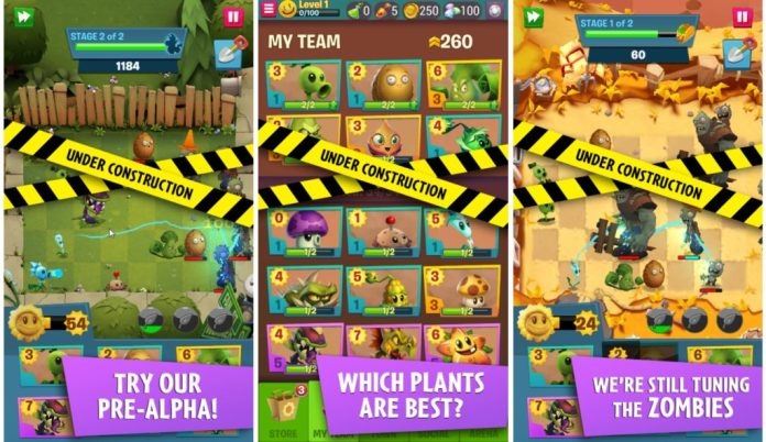 Plants vs Zombies 3 na android