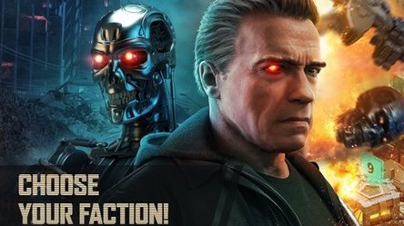 Terminator Genisys Future War Android