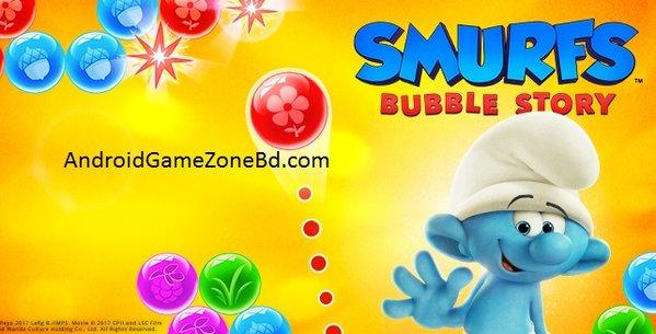 smurfs bubble story mod