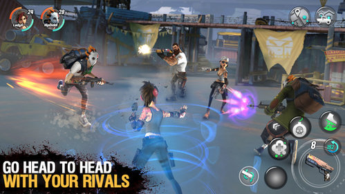 Dead Rivals Zombie MMO