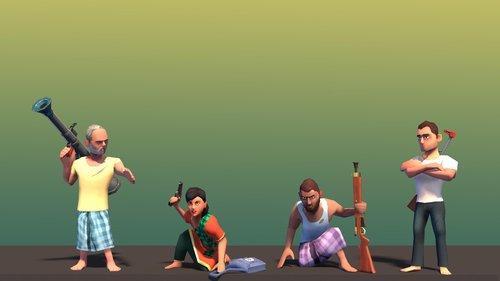 Heroes of 71 Mukti Camp