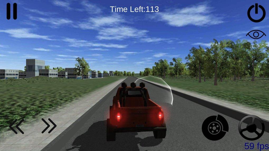 Pickup Driving