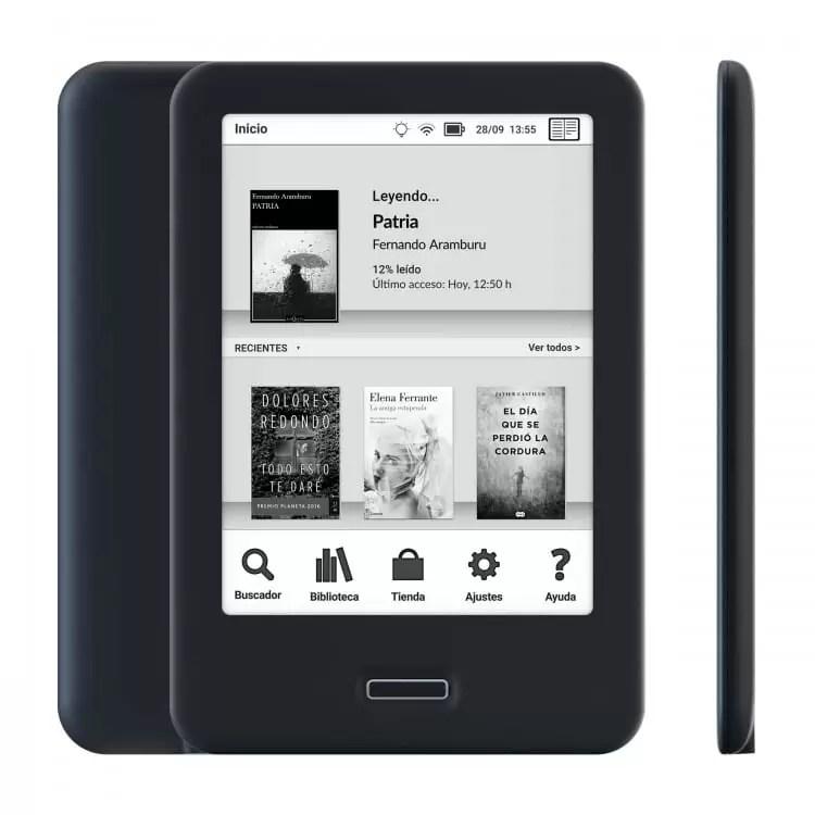 BQ lança o seu novo e-reader Cervantes 4 3