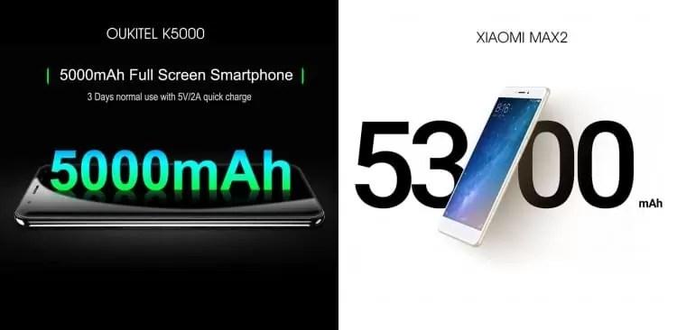 Festival de descontos 1111 está a chegar, qual preferem o XIAOMI MAX 2 ou OUKITEL K5000? 4