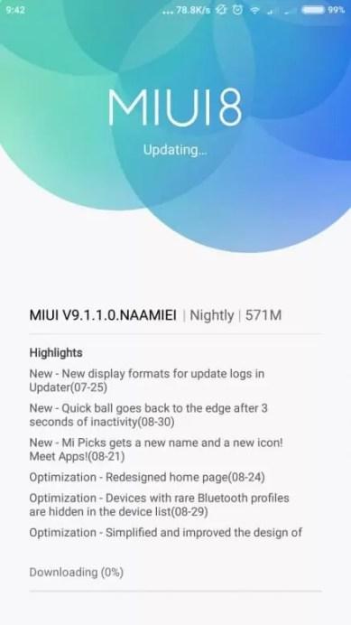 XIaomi Mi 5 e Mi 5s Plus começaram oficialmente a receber a MIUI 9 image