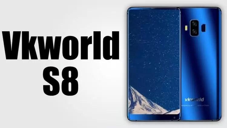 VkWORLD S8 com reconhecimento facial, ecrã 18:9 e baixo preço já está dísponivel 1