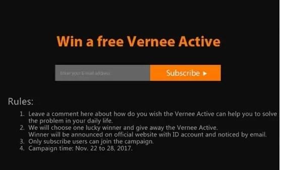 Vernee prepara-se para lançar o Vernee Active, o telefone robusto com excelente design 2