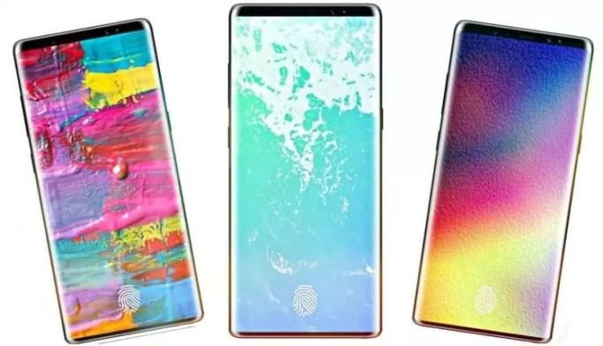 Galaxy Note 9 terá Leitor de Impressão Digital Embutido no Display 1