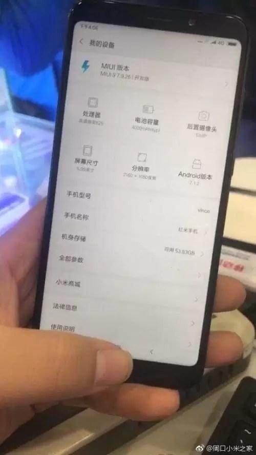 Xiaomi Redmi Note 5 aparece em imagem real e mostra especificações 1