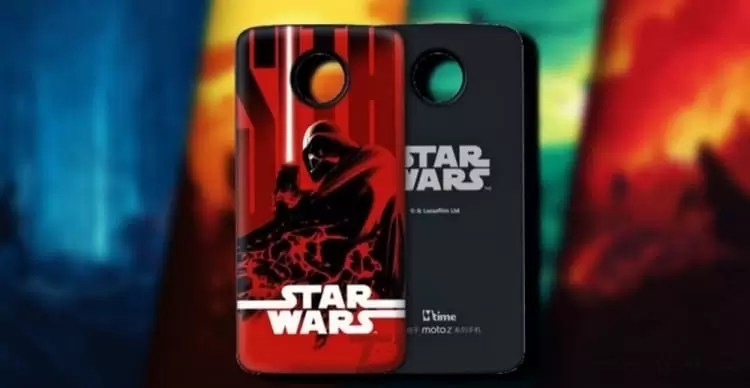 Motorola lançou edição limitada Star Wars Moto Mods image
