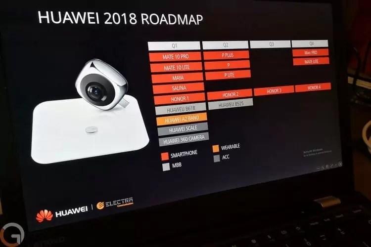 Roadmap 2018 da Huawei: Sabe quando sairá o P20 ou o novo Mate? 1
