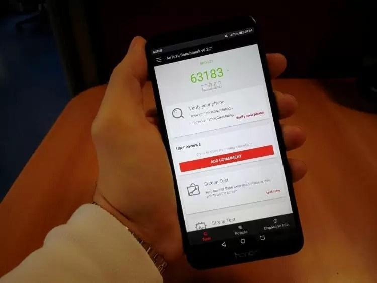 Análise Honor 7X o intermediário sem Bezels com o ADN Huawei 5