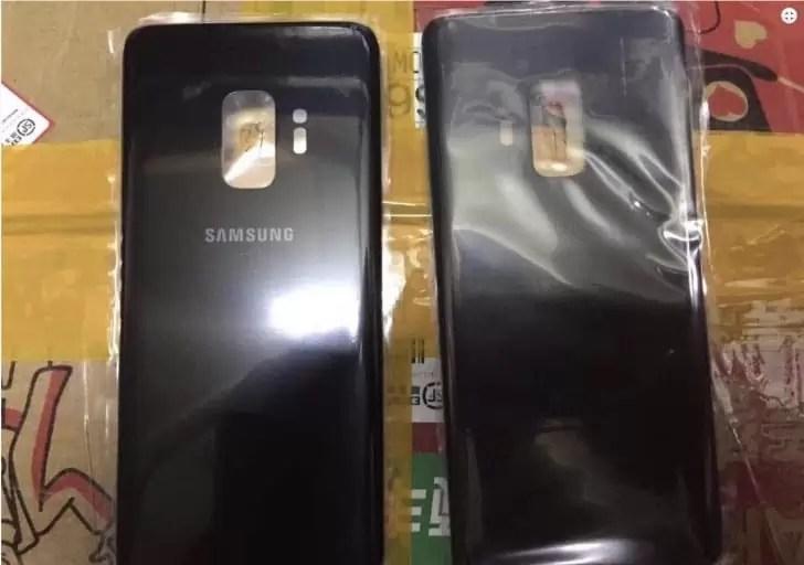 Foto da traseira do Galaxy S9 sugere uma configuração de câmara única 1