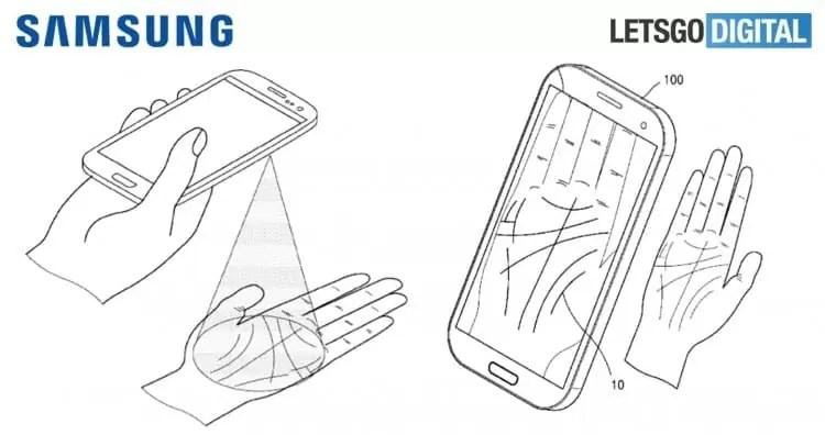 Futuros equipamentos Samsung com nova autenticação pela palma da mão 3