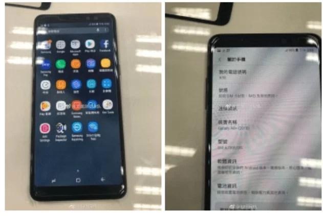 Galaxy A8 + (2018) é o novo A7, já viram as fotos? 1